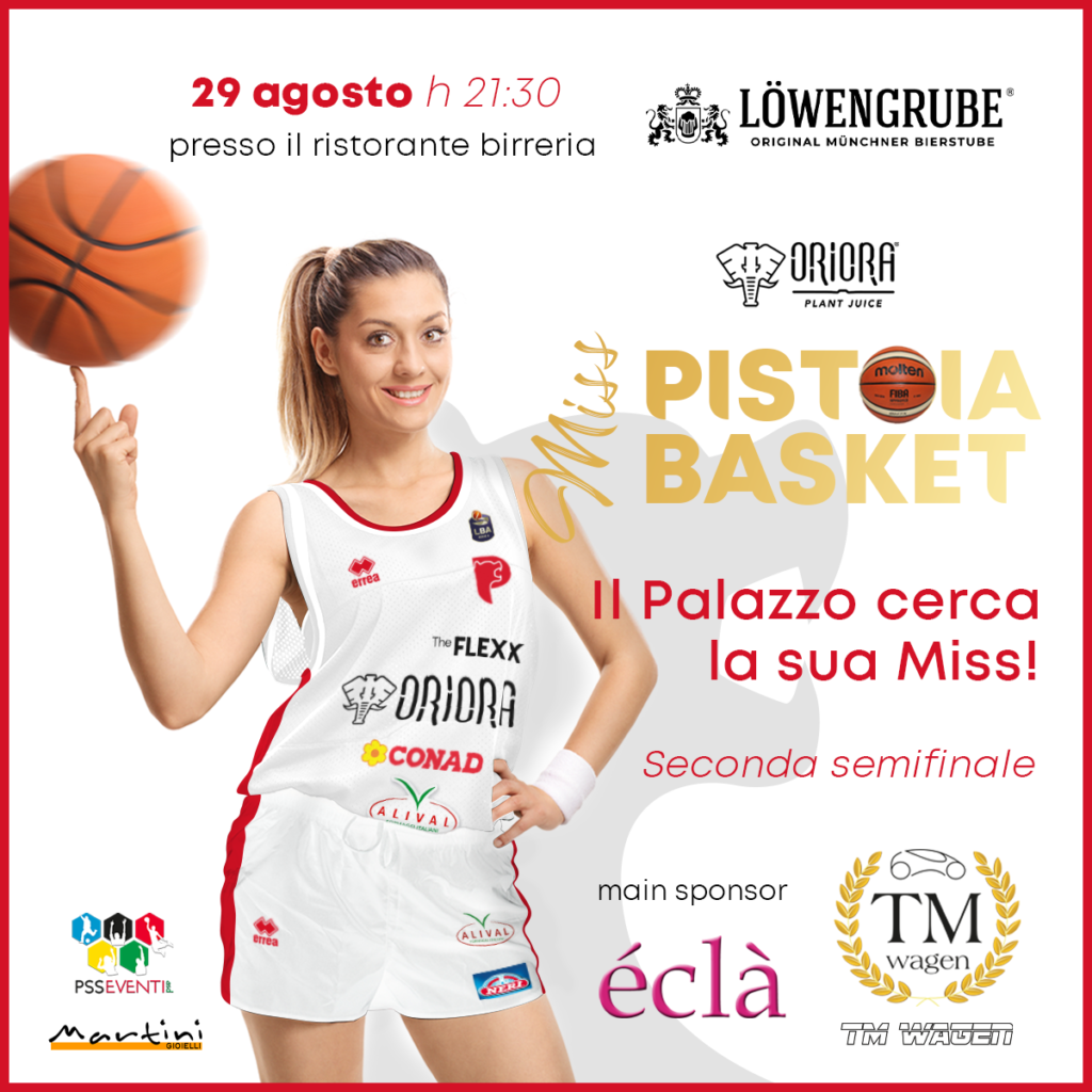 Seconda semifinale Miss Pistoia Basket