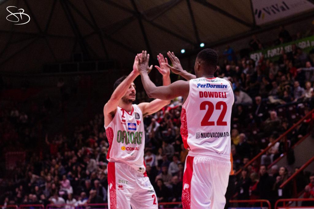 OriOra Pistoia – Aquila Basket Trento 12/01/2020