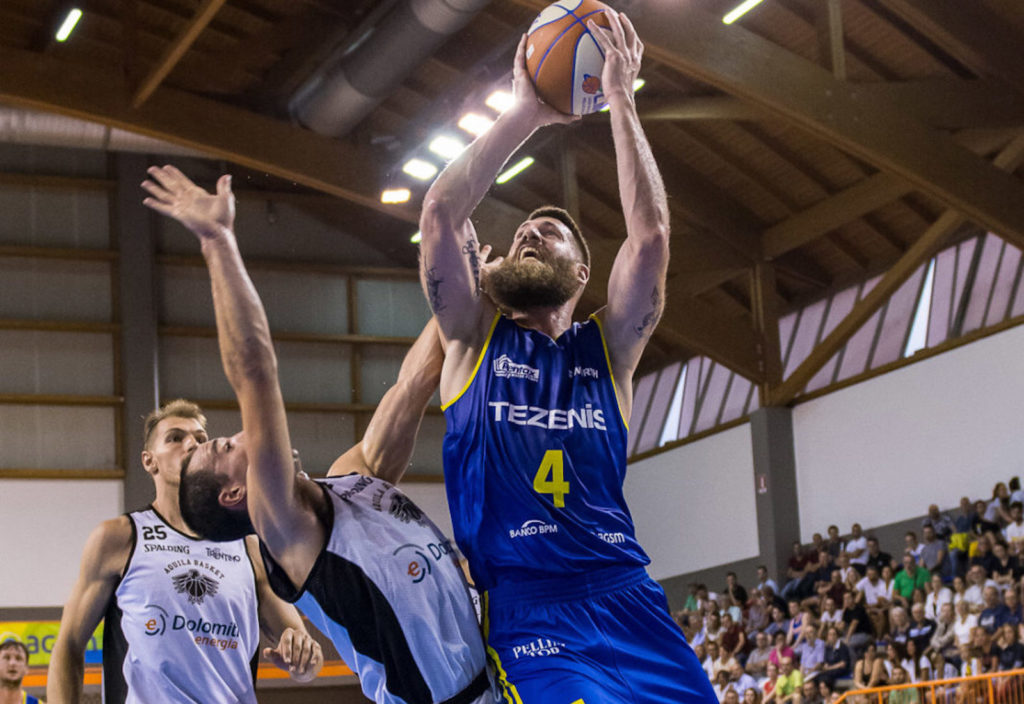 Pistoia Basket, ufficiale l'ingaggio di Mitchell Poletti