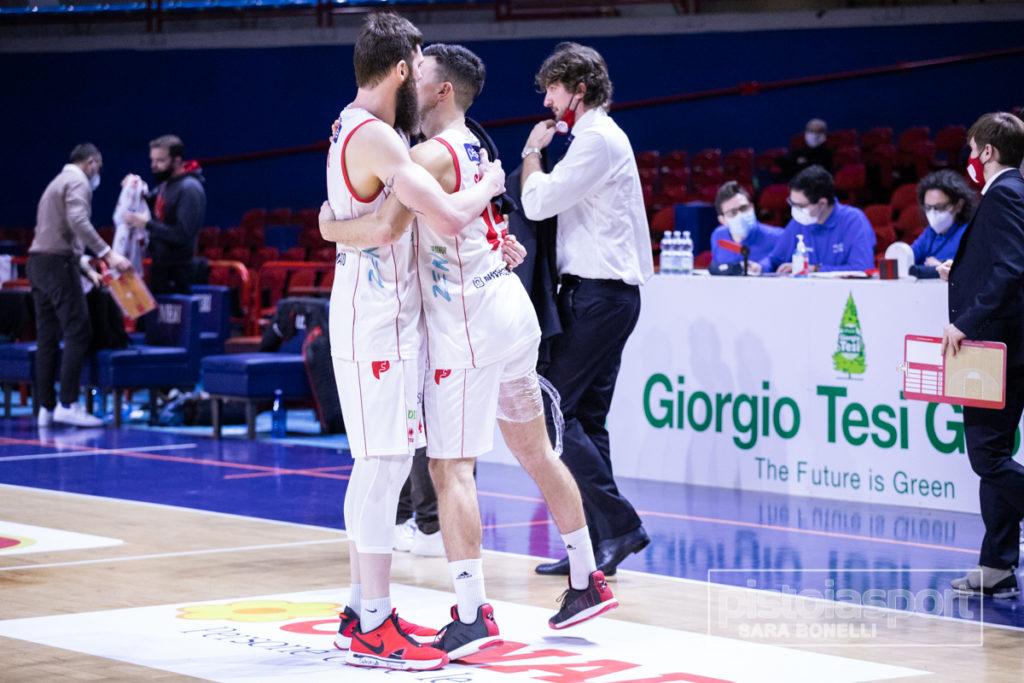 Giorgio Tesi Group Pistoia – Pallacanestro Chieti 24/01/2021